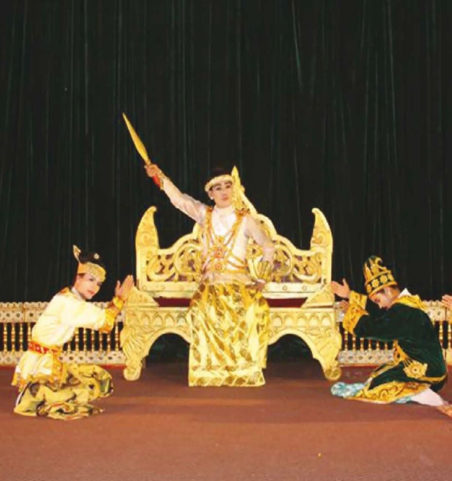 Theatre Performance by Sadakainaya Jataka Myanmar