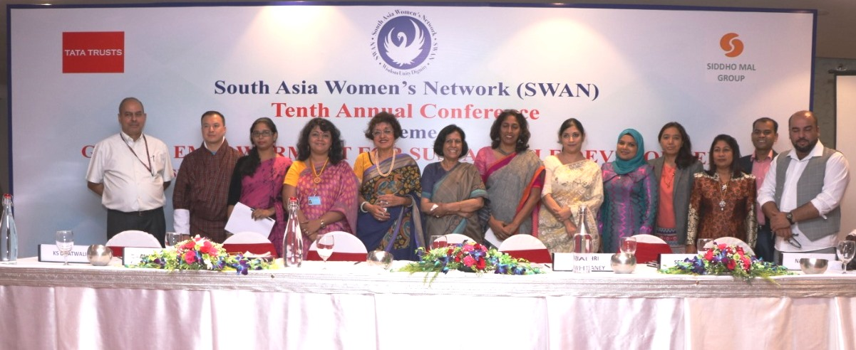 Panel of Women in Media during SWAN 10 Annual Conference