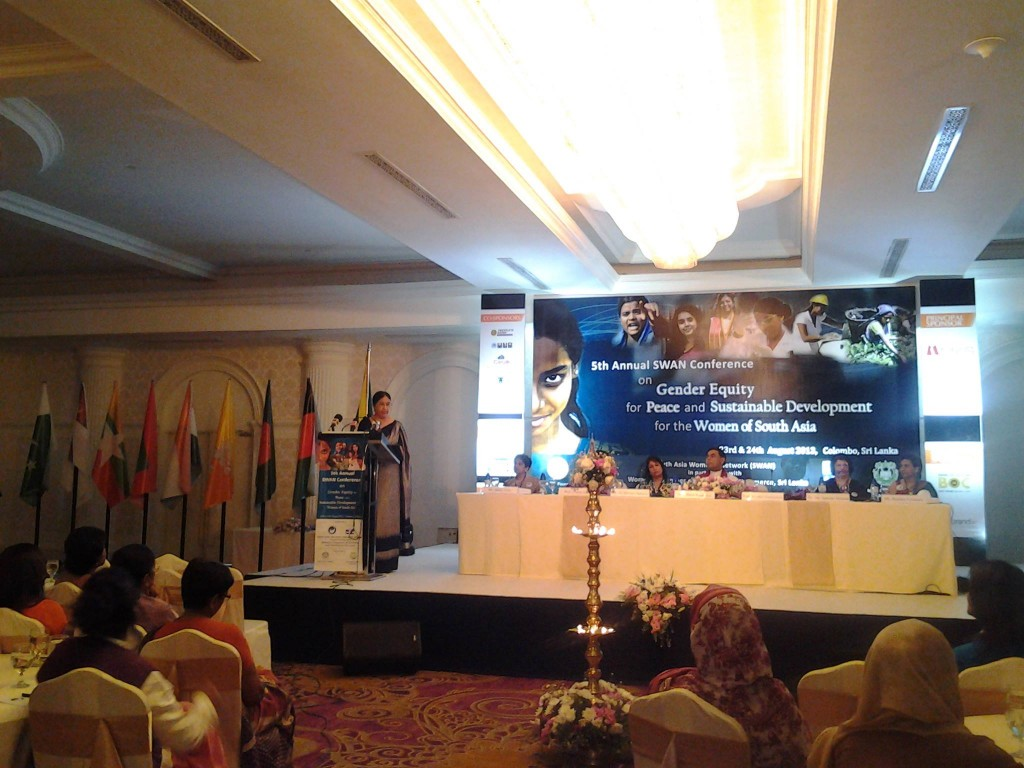 SWAN Bhutan Particpating in the Fifth Annual Conference, SWAN Interface, South Asia Women's Networks