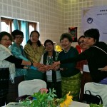 SWAN, South Asia Women's Networks 6 Annual Conference in Bhutan With-the-conclusion-of-the-6th-SWAN-Annual-Conference-Bhutan-Chapter-Executive-members-Chime-Wangdi-and-Kesang-Dorjee-hand-over-the-responsibility-to-our-Myanmar-sisters